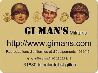 GI MAN'S Militaria