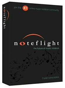Details about Noteflight Music Writing Software Subscription For Composers  & Arranger Mac PC