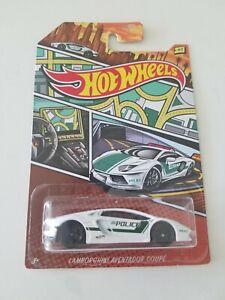 Hot Wheels Lamborghini Aventador Coupe WALMART POLICE CARS ...