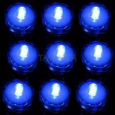 3 6 12 24 36 LED Submersible Waterproof Wedding Decoration Party Tea Light