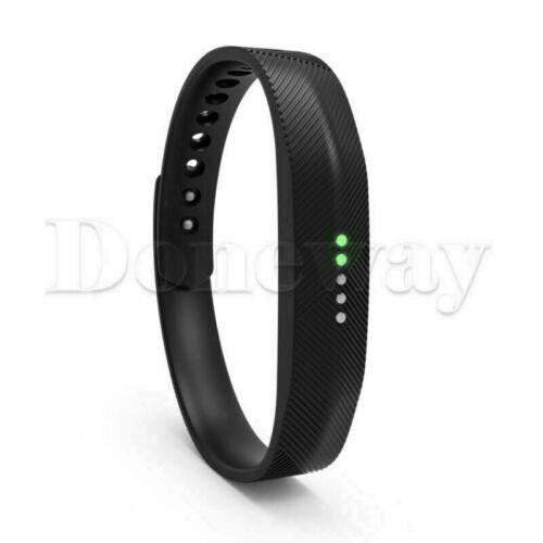 Small//Large Sport Silicone Accessory Band Wrist Strap For Fitbit Flex 2 Tracker
