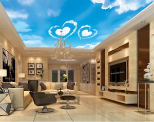 3D Liebe Wolken Landschaft 4 Fototapeten Wandbild Fototapete BildTapete DE Lemon