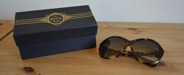 6ac719dfef0d DITA Brown Feather Oversized SERAPH 22010A Sunglasses NEW w  Box   Case  600