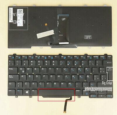Dell Latitude E5470 E7470 13 7350 2-in-1 US Keyboard