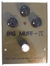 1990'S BIG MUFF PI BUBBLE LETTER DISTORTION SOVTEK ELECTRO HARMONIX PEDAL RUSSIA