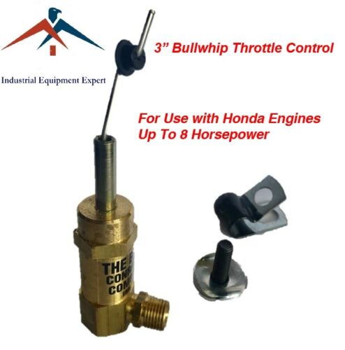 """3/"""" Bullwhip Throttle Control Cable Gas Air Compressor Unloader TCSA-H-5565-SCT"""