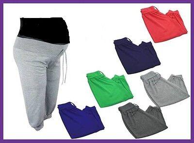 3/4 Schwangerschaftshose Jogginghose Sporthose Größe S-L no name