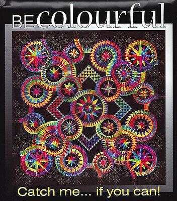 Catch me if you Can Paper Pieced Quilt Pattern Be Colourful Jacqueline de Jonge