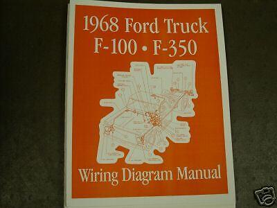1968 Ford F-Series Wiring Diagram Manual | eBay