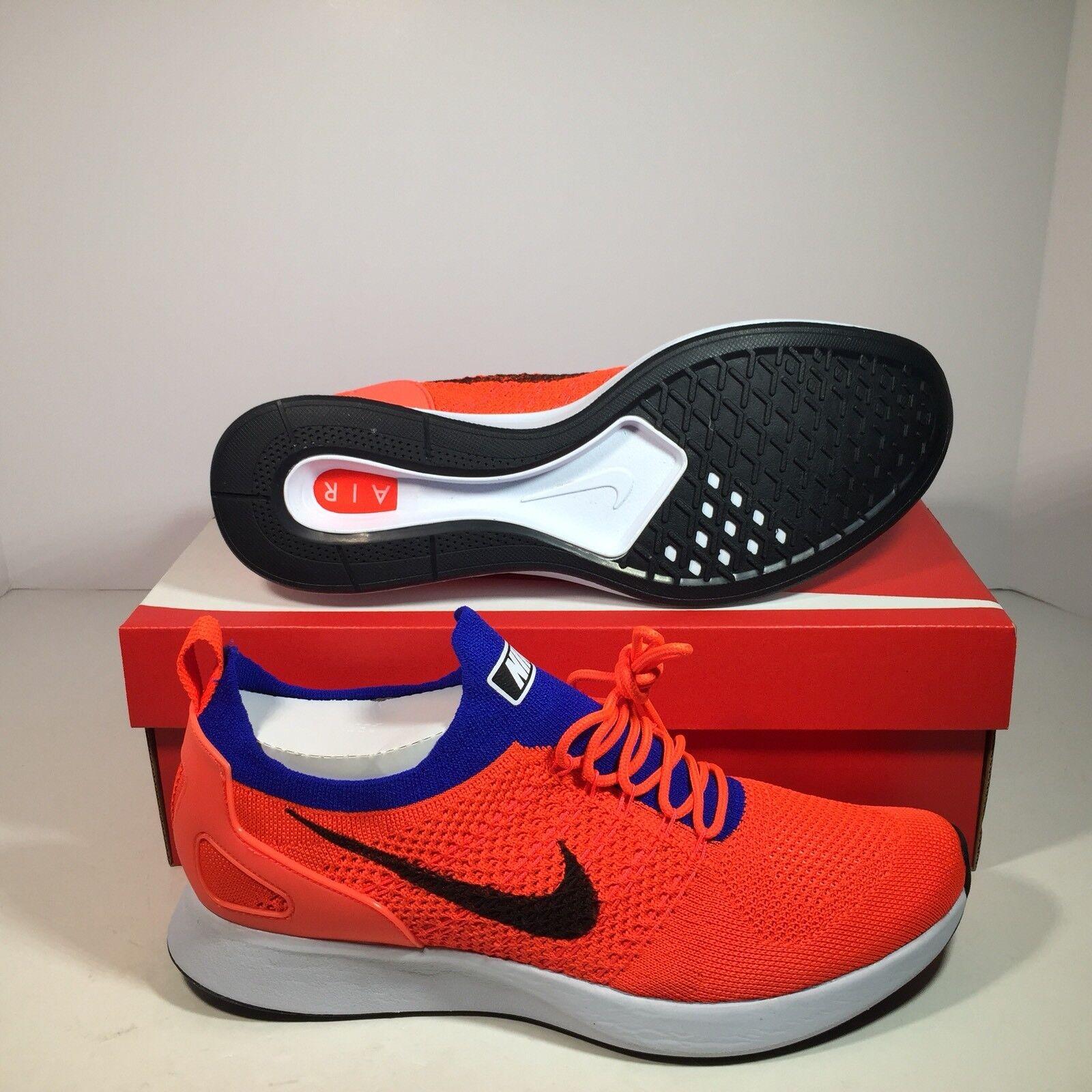 Nike Air Zoom Mariah Flyknit Racer Total Crimson Men's Running shoes 918264-800