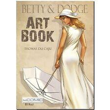 Betty & Dodge ARTBOOK Spionage Action COMIC 40er Thomas Du Caju ILLUSTRATION LP