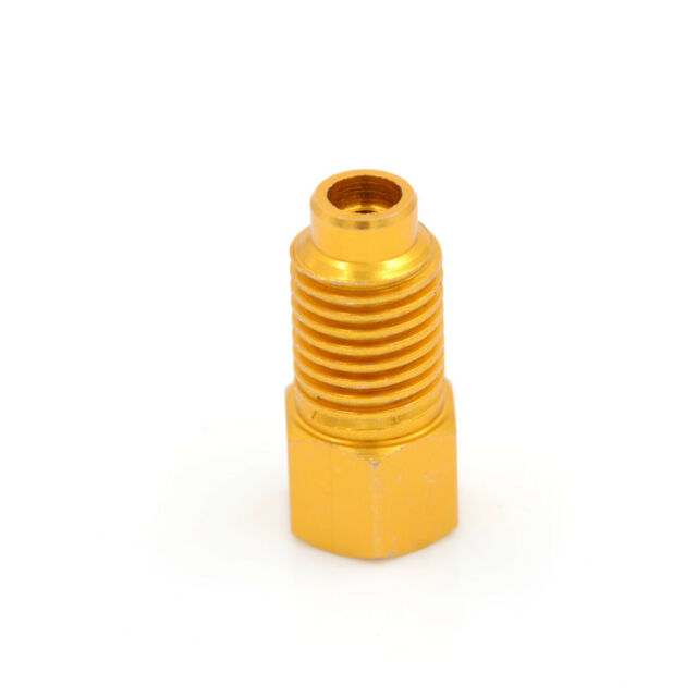 R134a Refrigerant Tank Adapter 1/2'' ACME Femalex 1/4'' Male Flare Fitting TooWB