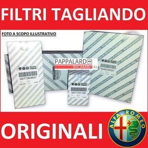 KIT TAGLIANDO ALFA ROMEO 147 GT 1.9 JTD JTDM 4 FILTRI MISTI