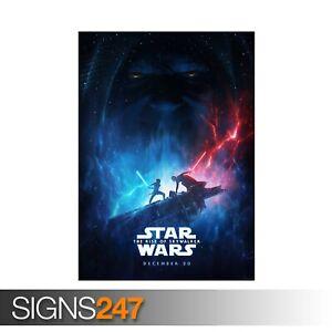 STAR-WARS-THE-RISE-OF-SKYWALKER-ZZ079-MOVIE-POSTER-Poster-Print-Art-A1-A2-A3