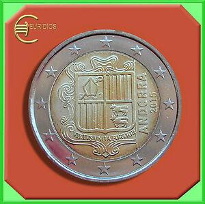 2-Euro-Kursmuenze-2015-Andorra-Coin-Coins-KMS-Monnaie-Moneta-UNC-SOFORT