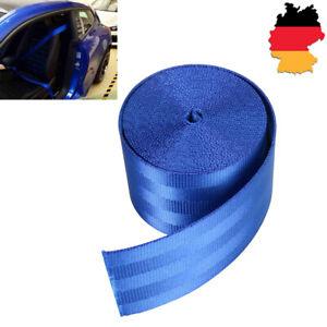 KFZ-PKW-Sicherheitsgurt-3-Punkt-Gurtpeitsche-Blau-360mm-FUR-BMW-VW-Benz-Audi