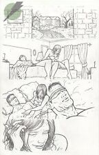 Villalobos E IS FOR EXTINCTION 1 pg 17 X-MEN's WHITE QUEEN EMMA & CYCLOPS IN BED