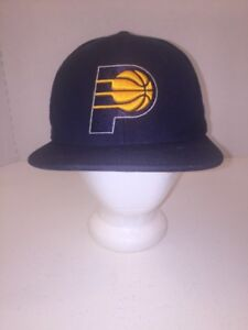cheaper de41f a1bb2 Image is loading Indiana-Pacers-Blue-Throwback-Mitchell-amp-Ness-NBA-
