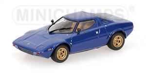 Lancia Stratos 1974 Bleu Modèle 1:43 Minichamps