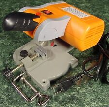 """2"""" Mini CUT OFF CHOP SAW New Hobby Craft Doll House with built in Vise electric"""