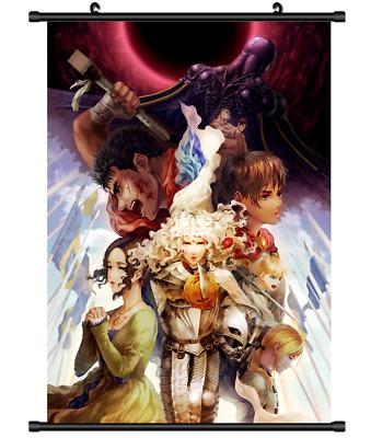 "Hot Japan Anime BERSERK Kentaro Miura Home Decor Poster Wall Scroll 8/""x12/"" PP314"