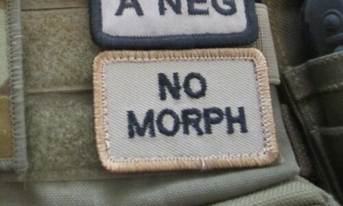 UNIFORMS VELCRO® MORALE ALLERGY PATCH FOR SORD PLATATAC MOLLE CHEST RIGS PACKS