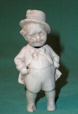 """porcelain fig. or dollhouse doll antique porcelain 3.2"""""""