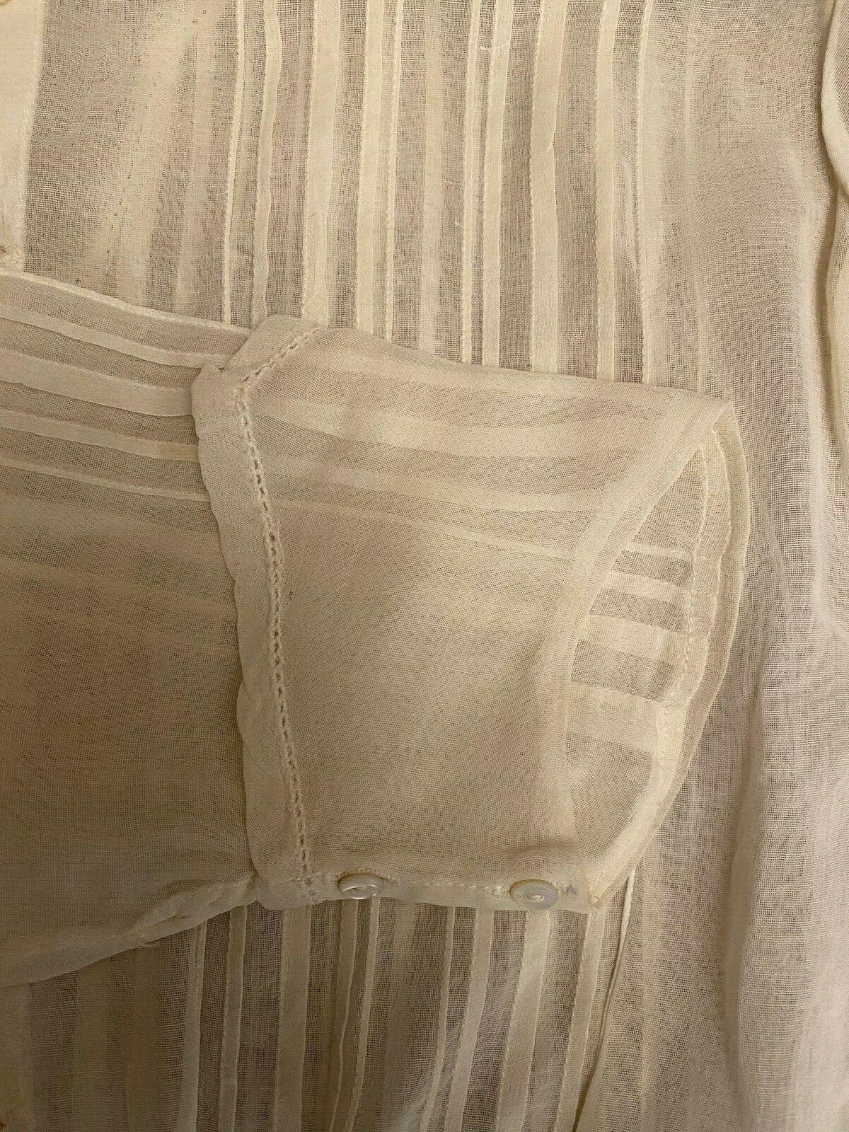 Antique Victorian Ladies  Blouse High Neck - image 4