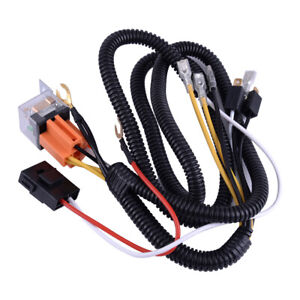 image is loading universal-dc-12v-horn-wiring-harness-relay-kit-