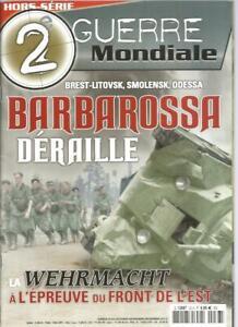 2e-GUERRE-MONDIALE-HS-N-33-BARBAROSSA-DERAILLE-WEHRMACHT-A-L-039-EPREUVE-FRONT-EST
