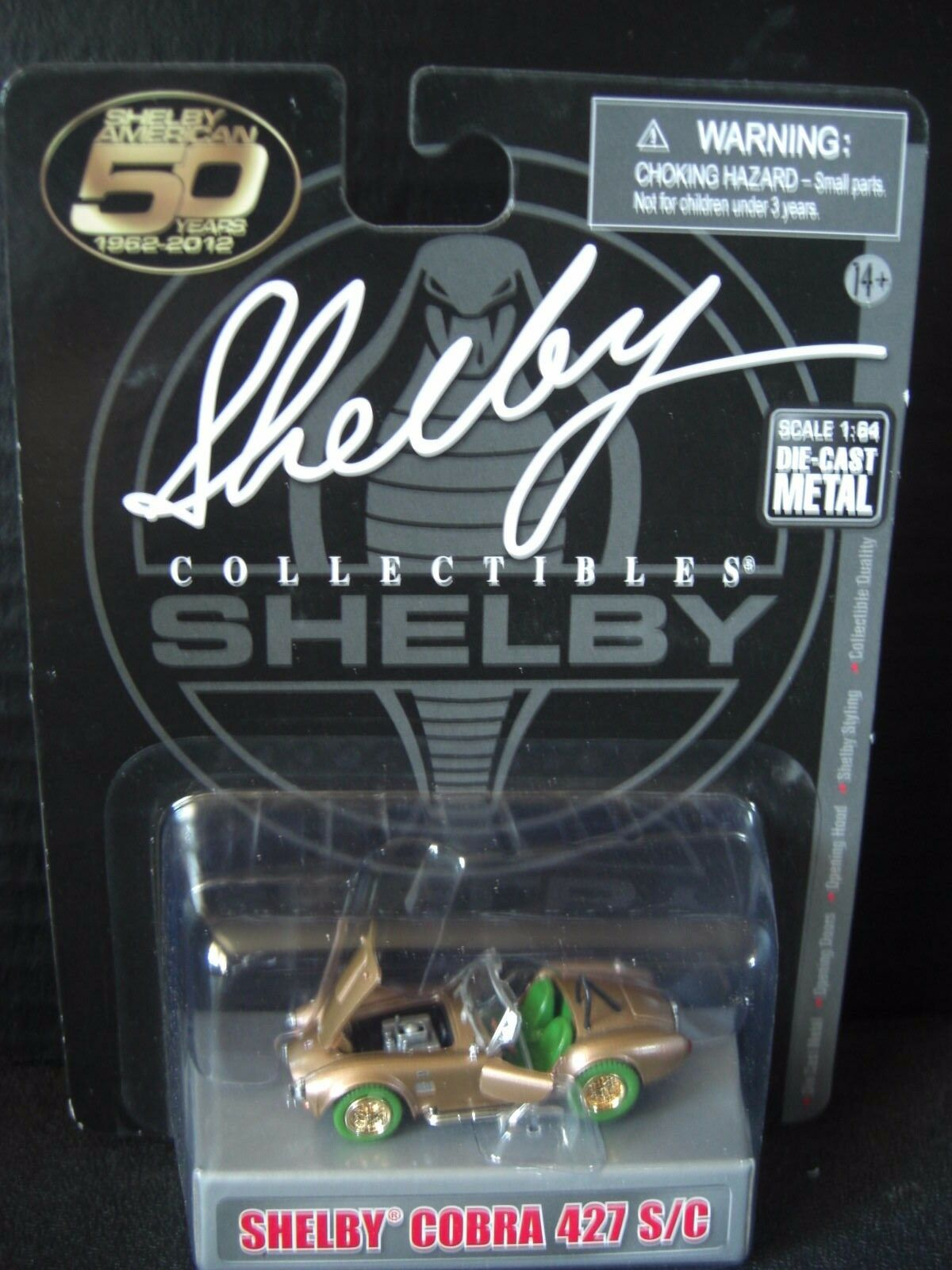 Shelby Cobra 427 S C  Super Chase 1 of only 50 Collectibles Made 1 64 Die cast