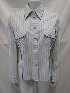 Caricamento dell immagine in corso camicia-donna-Claudia-Gil -misto-cotone-elastcizzato-taglia- 731b4f50cb27
