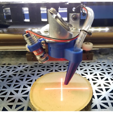 K40 Laser Cutter And Engraver Air Assist Nozzle And Laser Mount