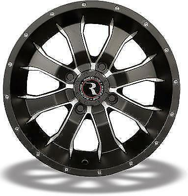 Front//Rear 14x7-5+2 Offset 4//115` A7747015-52 Mamba Wheel Sedona