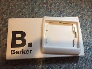 Berker Arsys  1-fach Rahmen in polarweiß