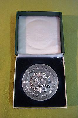 Ddr Medaille - Vpo - 30 Jahre Deutsche Volkspolizei - 1945 - 1975 GläNzend