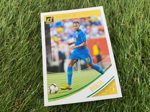 BASE CARD-NEYMAR Jr Paris St Germain Brazil PANINI DONRUSS Soccer 18//19