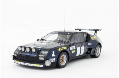 1:18 Otto Renault Alpine a310 v6 talla 5 rally var frequelin 1976 once gitanes New