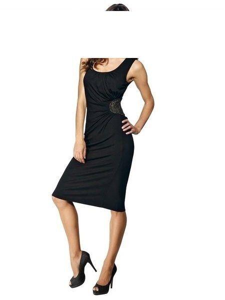 B.C. Best Connections Kleid Gr. 38 44 46 black  Shirtkleid NEU