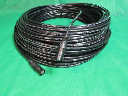 100 Ft CAT 5e STP Shielded Ethernet Black Cable w/Neutrik EtherCon RJ45 plugs.