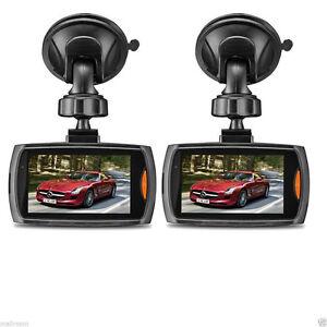 2x-2-2-034-Auto-Kamera-Recorder-KFZ-DVR-Uberwachung-Dashcam-HD-1080P
