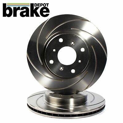 Mazda 3 2.3 Turbo MPS Front Grooved Brake Disc Set
