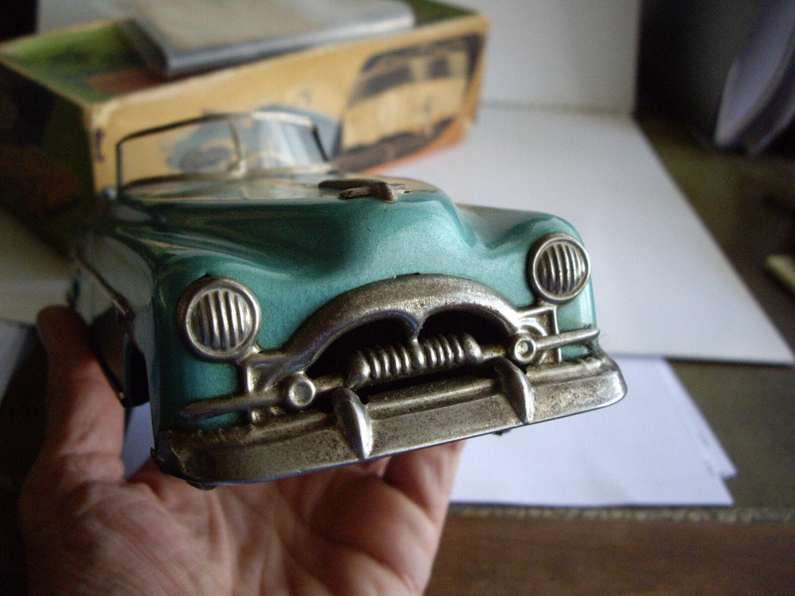 1950 Lata de cuerda Distler Packard 10  engranajes de función completa Caja Original