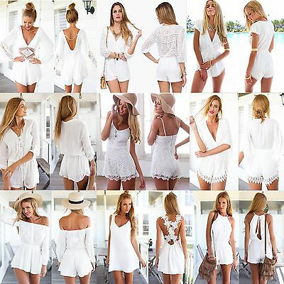 HOT Sexy Celeb Playsuit Party Evening Summer Ladies Dress Jumpsuit Short Romper