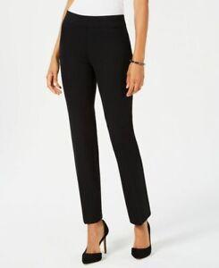 Kasper Women S Bootcut Compression Dress Pants Stretch Clr Black Size M Nwt Ebay