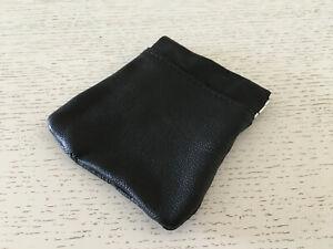 Used - Leather Bag For Coins Bolsa De Piel Para Monedas - 10 X 9 Cm - Usado