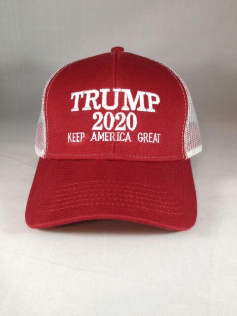 40031ace749c1 Trump 2020 Hat Keep America Great KAG Mesh Back Snap Back Maga USA ...