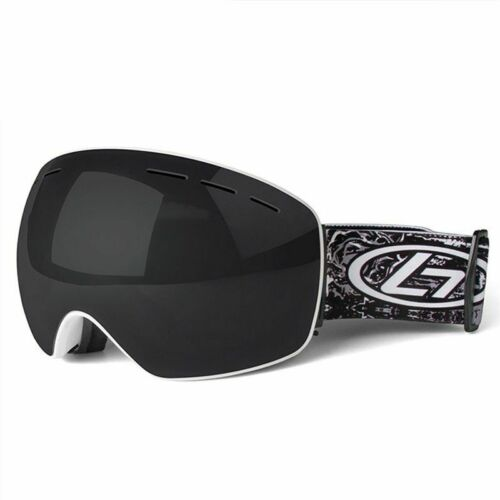 Ski Goggles Double Layers UV400 Anti-fog Big Ski Mask Glasses Skiing Men Women