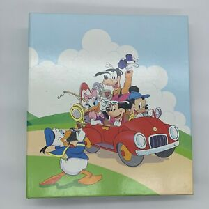 1989-Disney-MICKEY-MOUSE-amp-Gang-Photo-Album-by-Holson-Vintage-USA