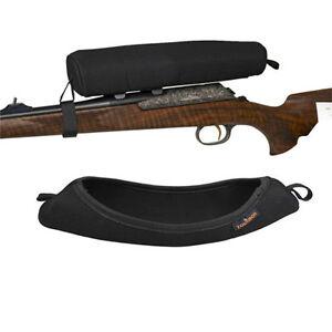 Tourbon-Scope-Cover-Guard-Safe-Case-Soft-Large-Neoprene-Rifle-Gun-Hunting-Black